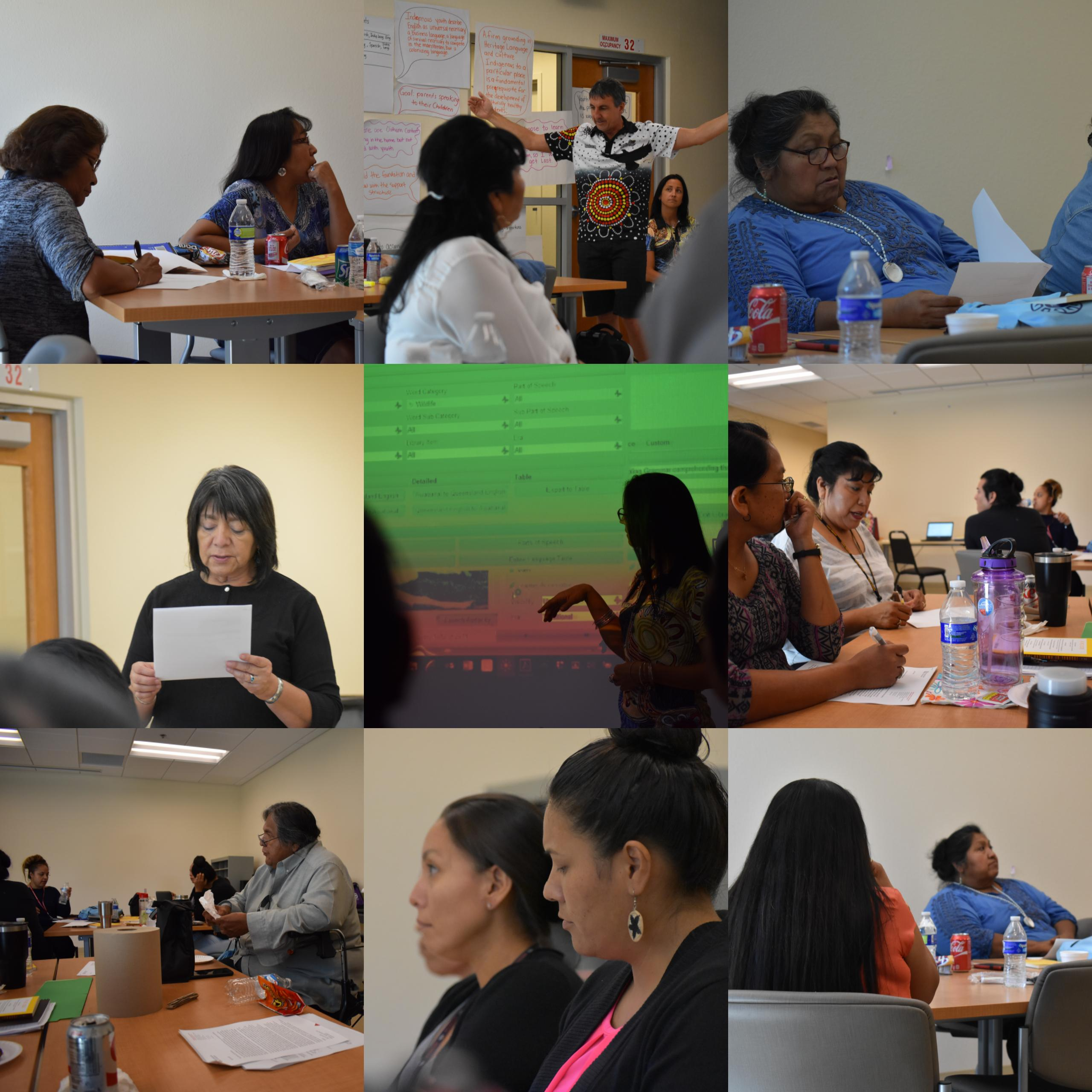 A compilation of images from the classes offered by AILDI