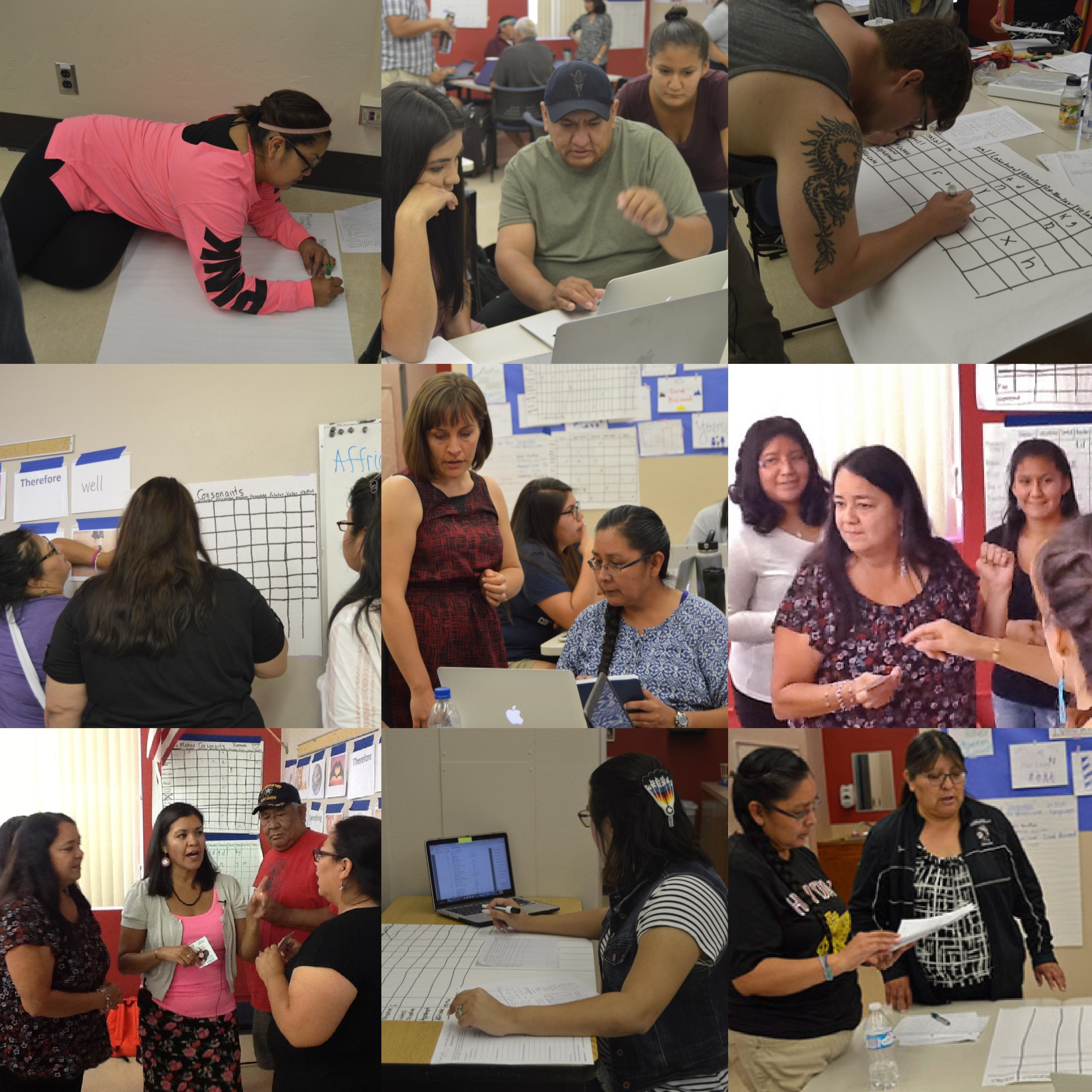A compilation of images from the first summer session offered by AILDI