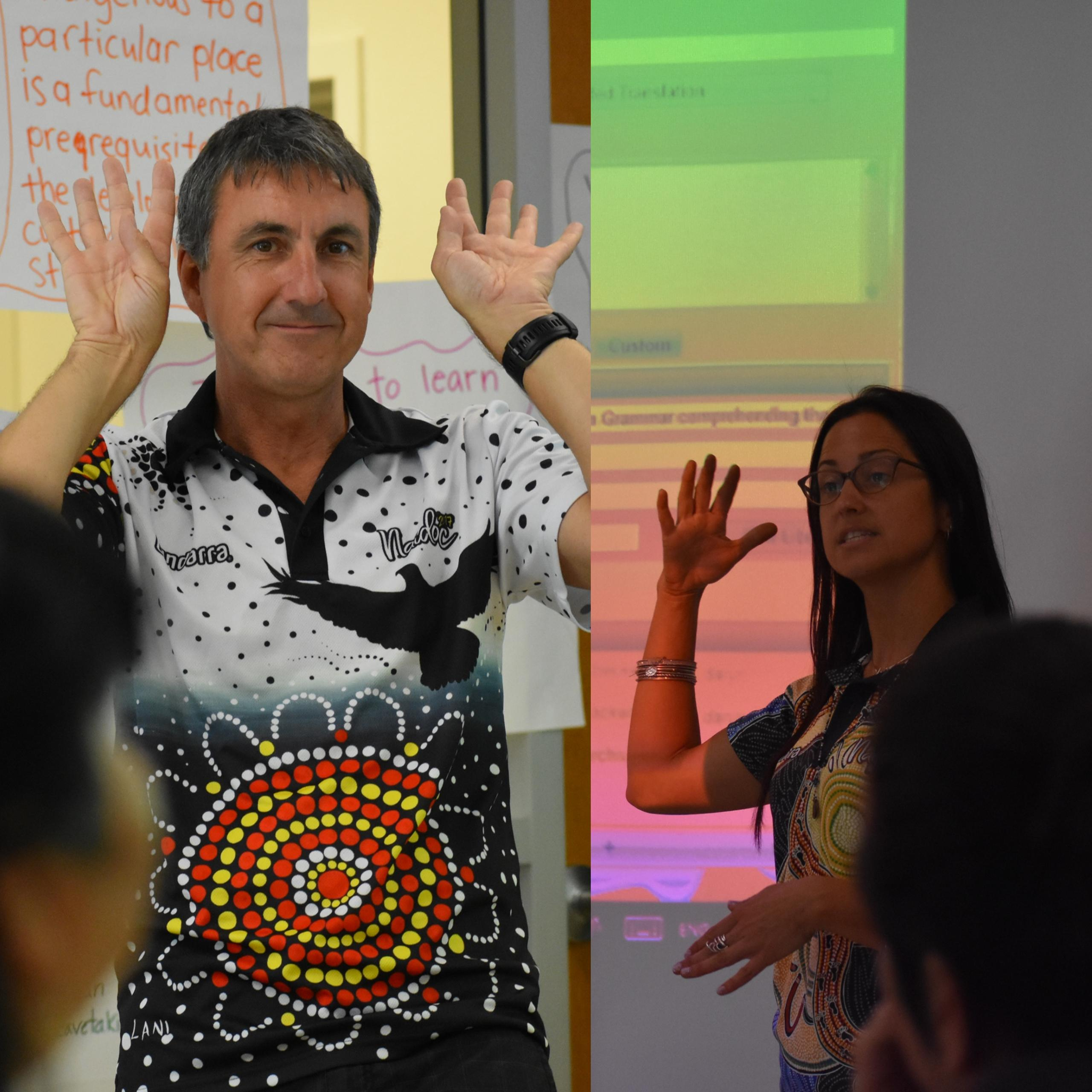A photo of Daryn Mckenny, a guest speaker for AILDI's summer session