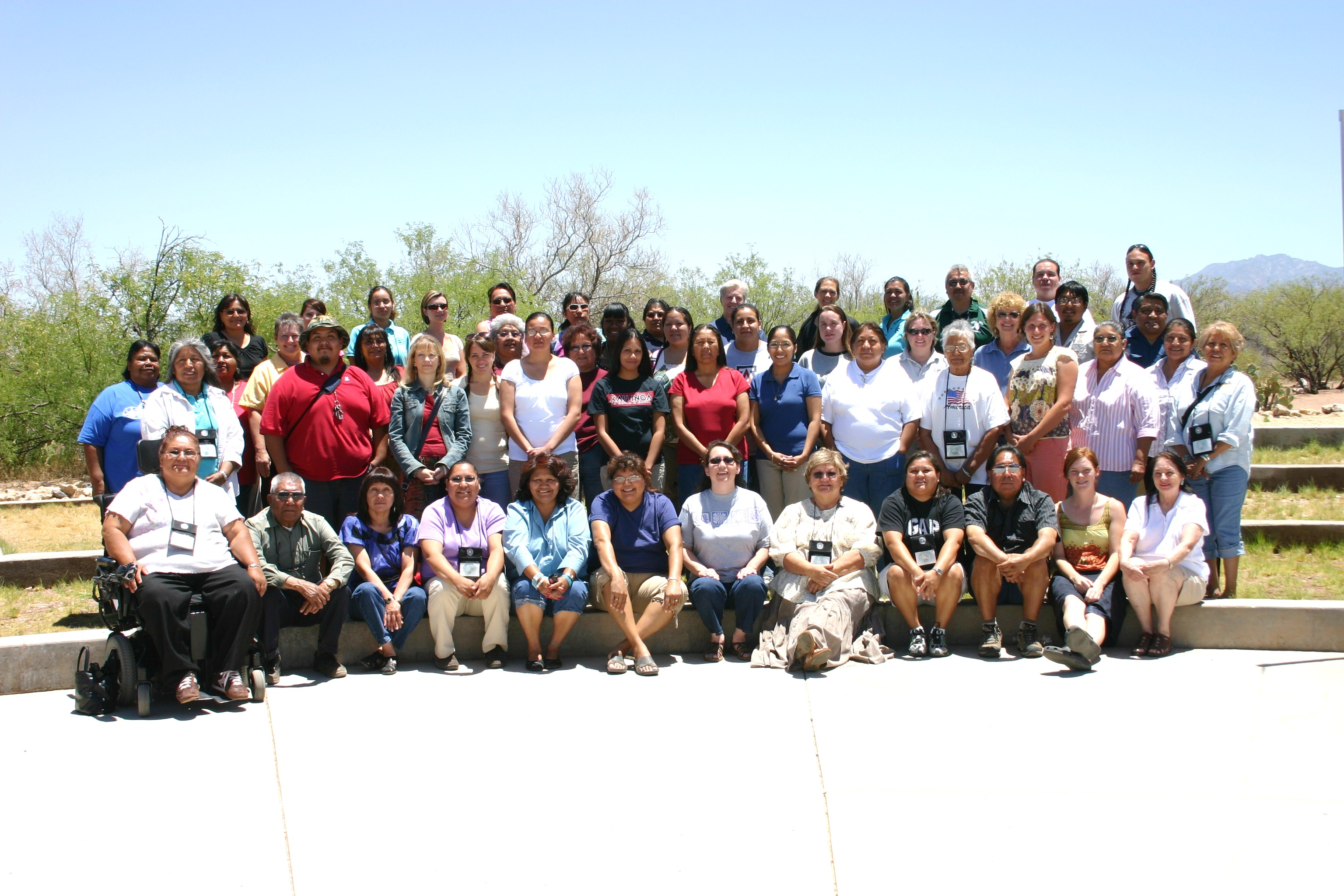 A photo of the University of Arizona's AILDi class of 2008