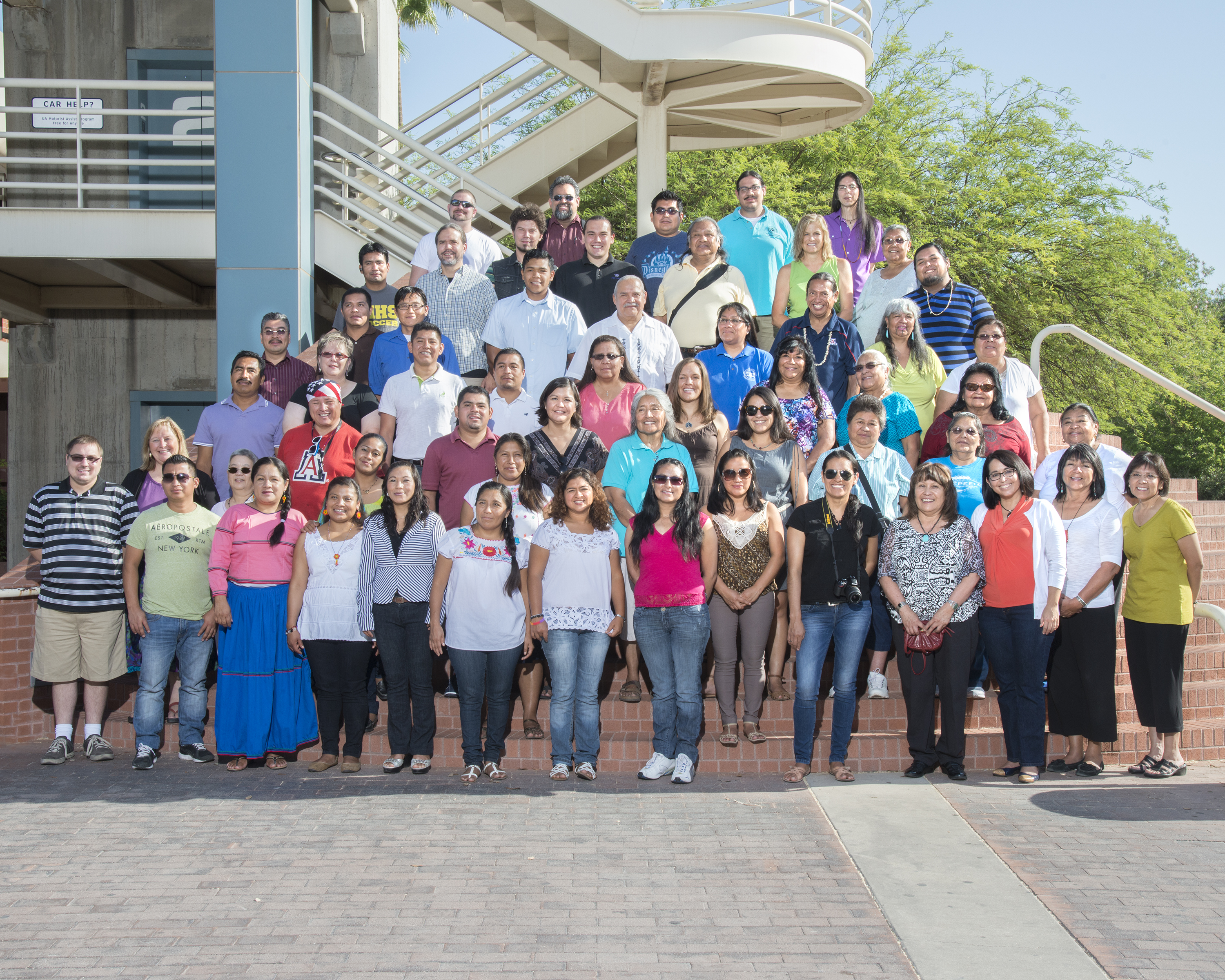 A photo of the University of Arizona's AILDI class of 2014