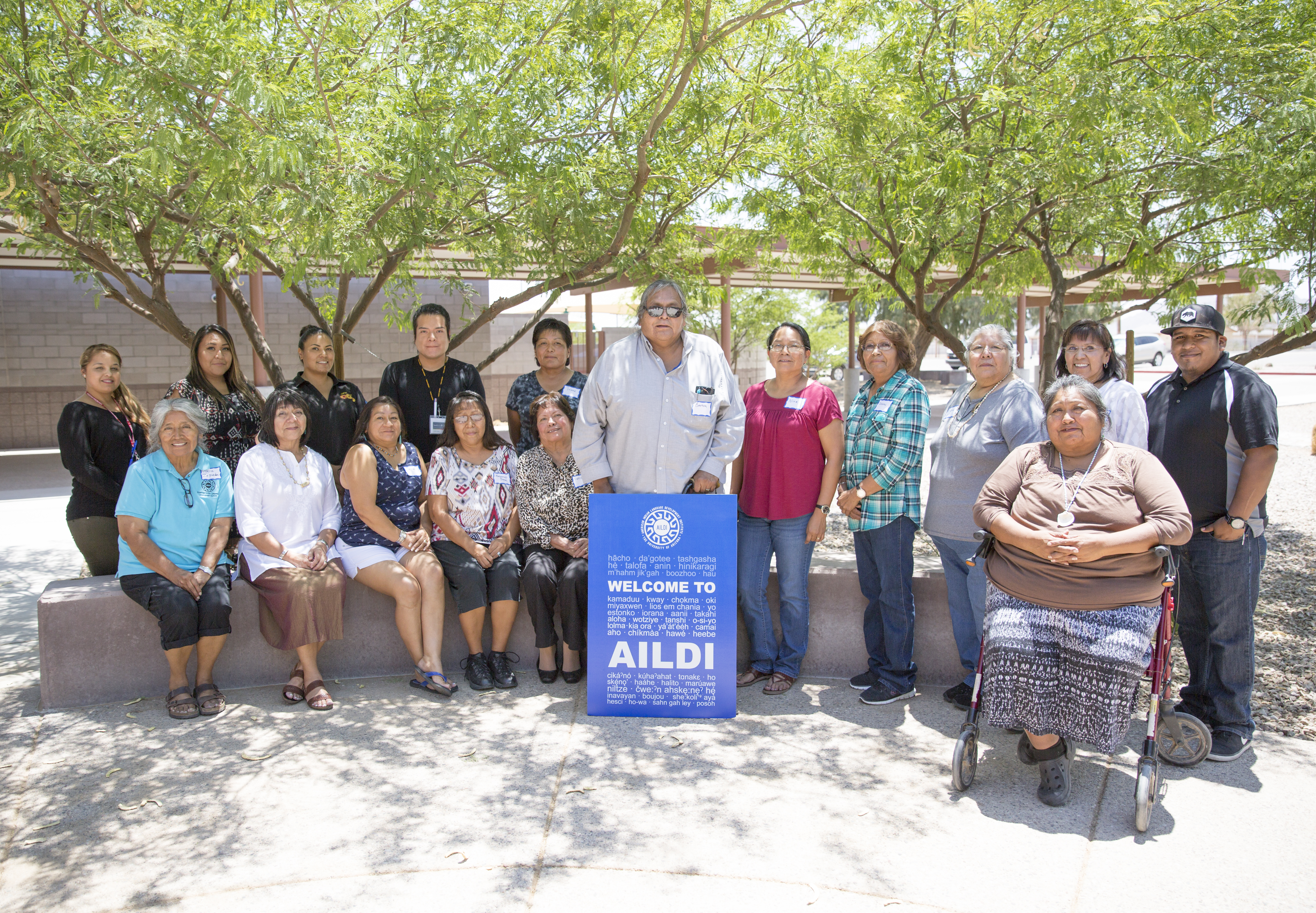 AILDI 2017 summer session II, photo by Christopher Lomahquahu, Gila River New